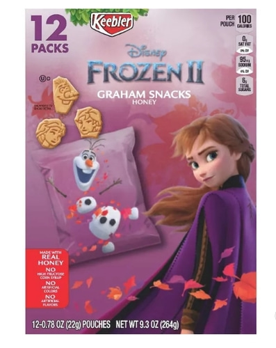 keebler Frozen 2 Honey Grahams12ct x 3박스