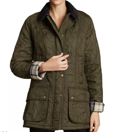 Barbour Beadnell Polarquilt Jacket - US6/UK10