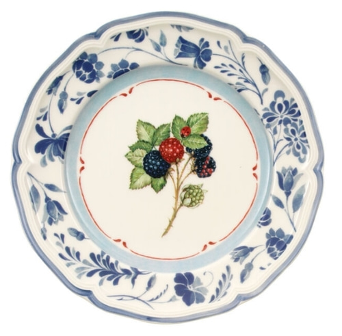 "Villeroy & Boch ""Cottage Inn"" Salad Plate - 2개"