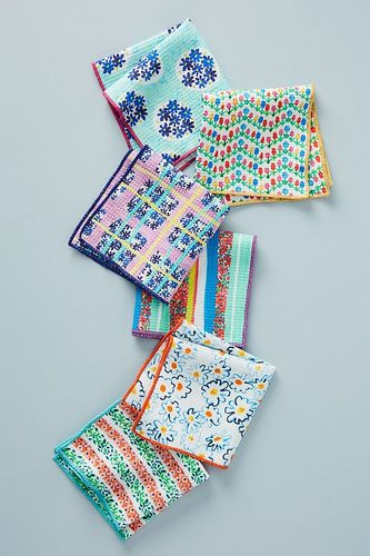 Anthropologie Dishcloths, Set of 6