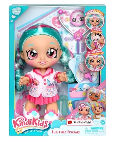 Kindi Kids Fun Time 10 Inch Doll - Dr Cindy Pops - 신디팝