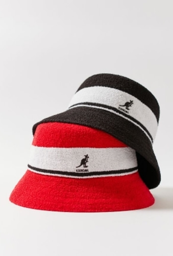 kangol bermuda stripe bucket hat - 바로출고