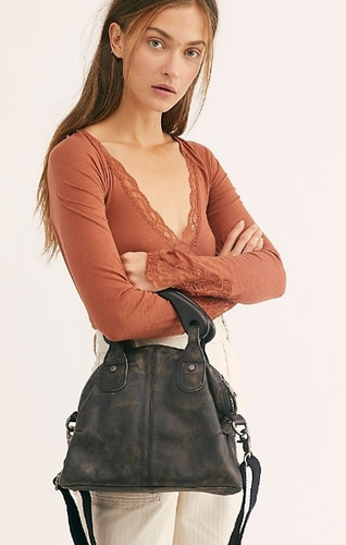 Free People leather bag