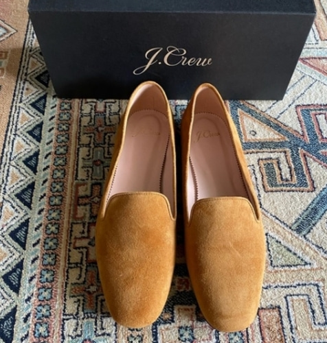 J.crew Suede smoking slippers- 바로출고