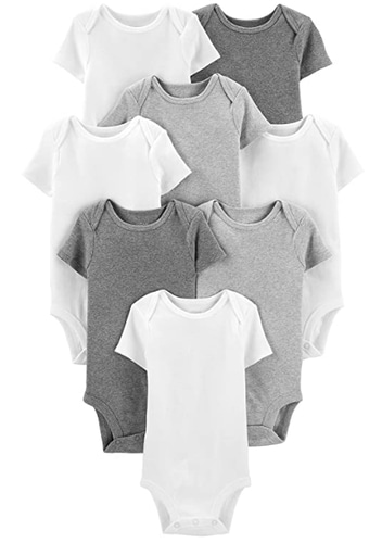 Carter's Baby 8-Pack Short-Sleeve Bodysuit