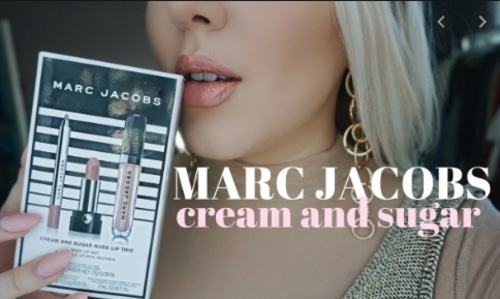 Marc jacobs CREAM AND SUGAR NUDE LIP TRIO - 바로출고