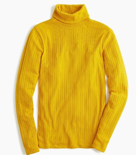 J.Crew Ribbed-knit turtleneck-바로출고
