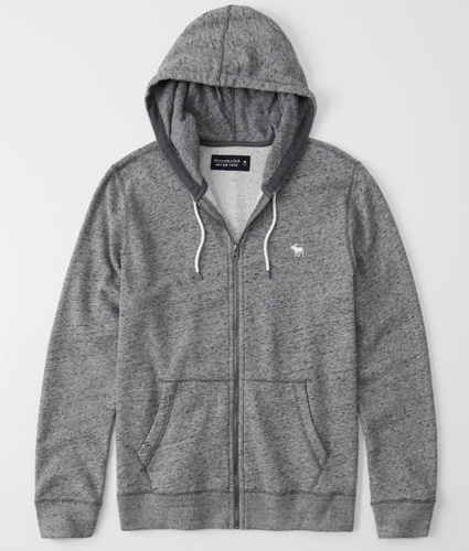 abercrombie &  fitch zip - hoodie
